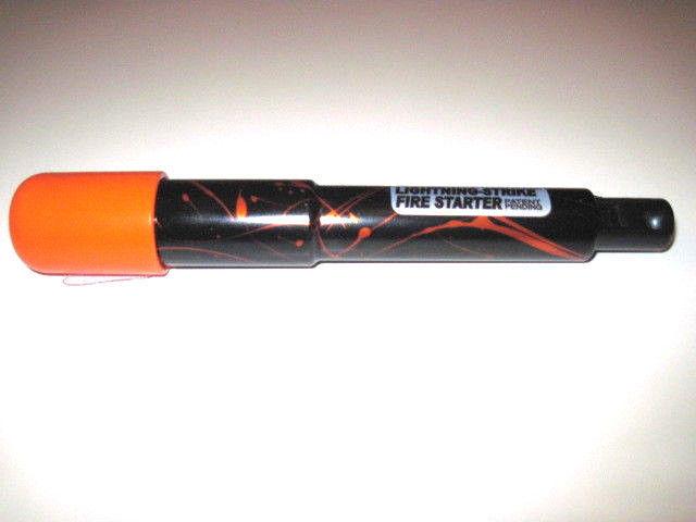 Holland Limited Edition Black OPS in Splash Orange Lightning Strike Fire Starter