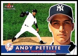 2001 Fleer Tradition #13 Andy Pettitte NM-MT New York Yankees - $1.49