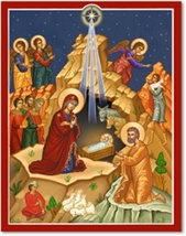 "Star of Bethlehem - 11 x 14"" print With Lumina Gold - $36.95"