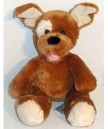 "BUILD A BEAR SOFT BROWN SUGAR PUP PUPPY DOG 14"" STUFFED ANIMAL PLUSH DOL... - $6.99"