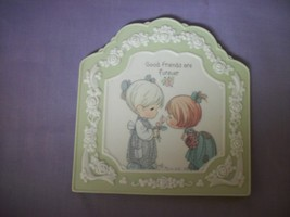 Precious Moments Decorative Collectible wall plaque - $5.45