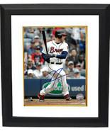 Freddie Freeman signed Atlanta Braves 8x10 Photo Custom Framed #5- PSA/J... - $116.95