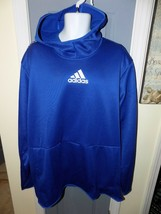 Adidas GFX Climawarm Waffle Mesh High Neck Pullover Hoodie Size 2XLT Men... - $52.20
