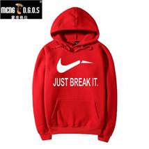 New Brand Sweatshirt Men Hoodies Fashion Solid Fleece Hoodie Mens  Suit ... - $20.63+