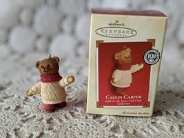 Hallmark Keepsake Christmas Ornament 2002 Calvin Carter - $8.68