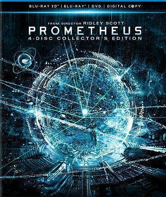 Prometheus (Blu-ray 3D+Blu-ray) (2012)