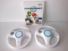 MARIO KART Wii or Wii U Nintendo Family Fun Racing Video Game +2 Steerin... - $39.95