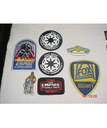 Star Wars Lot of 7x New Zealand & Australian Cloth Patches Badges Magnet - $29.02