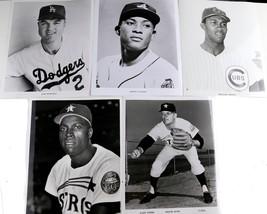 Lot of 5x B&W Baseball Player Photo Prints  - $37.25