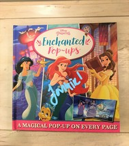 DISNEY PRINCESS ENCHANTED POP-UPS BOOK NEW - $6.99
