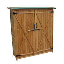 NEW! Outdoor Garden Storage Shed with Double Doors - $265.21