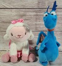 Disney Store Doc McStuffins Plush Lambie Stuffy Dragon Stuffed Animal Lo... - $19.39