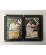 BABE RUTH and ROGER MARIS Supreme Cuts NEW YORK YANKEES with Facsimile A... - $34.65