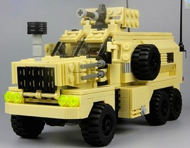 U.S. COUGAR 6x6 MRAP vehicle MENG SS Custom building toy fit w brik mini... - $37.52