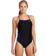 Speedo Women's Rapid Splice Xtra Life Lycra Energy Back Performance Swim... - $32.68