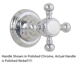 California Faucets TO-60-W-PN Wall Stop or Diverter Trim Only in Polished Nickel - $94.05