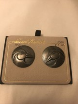 Laurel Burch bird earring silvertone  - $14.85