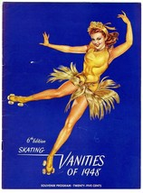 Skating Vanities of 1948 Souvenir Program 6th Edition  Roller Skating - $49.51