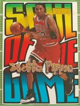 Scottie Pippen 1998-1999 Fleer Premium Soul Of The Game Card PSA10?BULLS F HOF-2 - $148.49