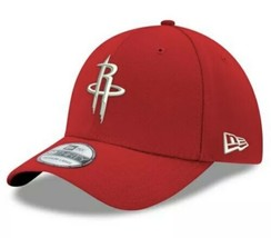 New Era Houston Rockets 39Thirty Team Classic Flex Fitted Hat Red Size M/L - $25.25