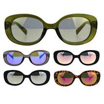 Womens Color Mirror Mod Designer Plastic Fashion Sunglasses - $9.95
