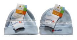 GOLDBUG 2pc Set HAT & SOCKS Toddler/Infant 0-6 MONTHS Baby Boy *YOU CHOOSE* - $2.98