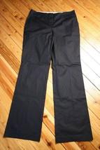 NWT Loft 12 T Tall Julie Curvy Black Boot Leg Dress Pants - $29.45