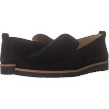 Franco Sarto Haiku 2 Slip On Flats 451, Black Suede, 6 US / 36 EU - $26.87