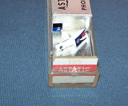 PHONOGRAPH CARTRIDGE STYLUS ASTATIC 105 for EV 66 EV 66D EV 61 EV 61D 941-DS73 image 1
