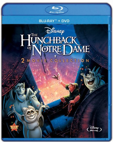 Disney Hunchback of Notre Dame 1 & 2 (3-Disc Special Edition) (Blu-ray+DVD) New