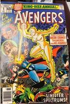 AVENGERS ANNUAL #8 (1978) Marvel Comics Ms. Marvel FINE - $9.89