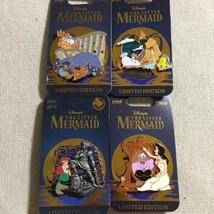 Disney Little Mermaid 30 anniversary pin badge Ariel Ursula set limited 5000 - $277.19