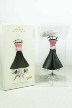 Hallmark QFM4483 Barbie The Perfect Evening Out Ornament Set & Display - $21.99
