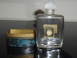 BACCARAT RARE VINTAGE NARCISSE PERFUME BOTTLE FOR SILKA, 1923 - $2,000.00
