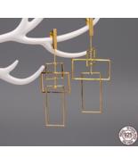 Real 925 Sterling Silver Fine Jewelry Drop Earrings Female - $129.99