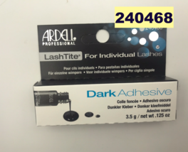 ARDELL EYELASH ADHESIVE EYELASH GLUE DARK FOR INDIVIDUAL LASHES .125oz - $2.96