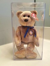 Ty Beanie Baby CLUBBY III Bear 2000 BBOC Retired NWT w/Case & Tag Cover - $12.18