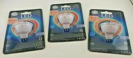 3 Pkgs GE 7W 50W Bright White 500 Lumens LED MR16 Dimmable Flood Light Bulb - $19.30