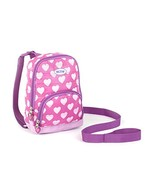 Nuby Quilted Baby Backpack with Safety Harness,Pink Hearts - $15.03