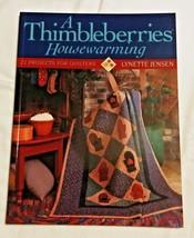 Thimbleberries Housewarming quilt book 22 project Lynette Jensen sewing ... - $19.79