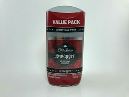 Old Spice Red Zone Deodorant Invisible Solid Swagger 2.60 oz (Twin (2) p... - $9.73