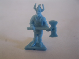 2003 Age of Mythology Board Game Piece: Norse Heroic Hero Unit - Light Blue - $1.00