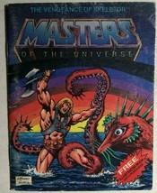 "MASTERS OF THE UNIVERSE Vengeance of Skeletor (1982) Mattel 5-1/4"" x 4"" ... - $14.84"