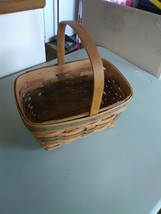 1991 Longaberger Gathering Basket with Fixed Handle - $9.15