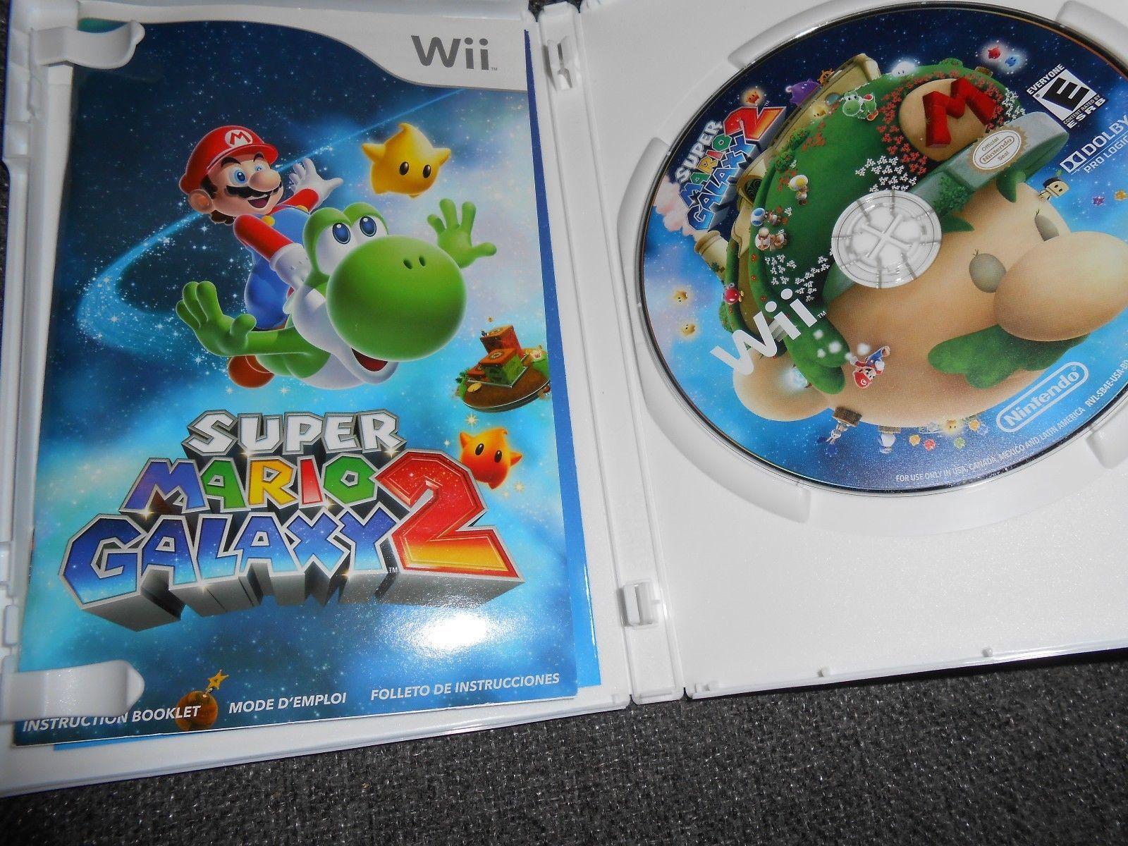 Super Mario Galaxy 2 (Nintendo Wii, 2010) and 50 similar items