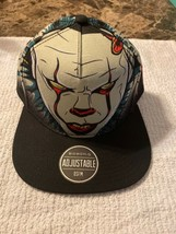 Stephen Kings IT Pennywise Snapback Hat Adjustable Cap NWT - $19.79