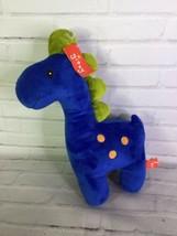Gitzy Dinosaur Plush Stuffed Animal Toy Blue Green - $14.84