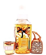 Bath & Body Works Pumpkin Cake Hand Soap, PocketBac, Glitter Holder Set ... - $18.27
