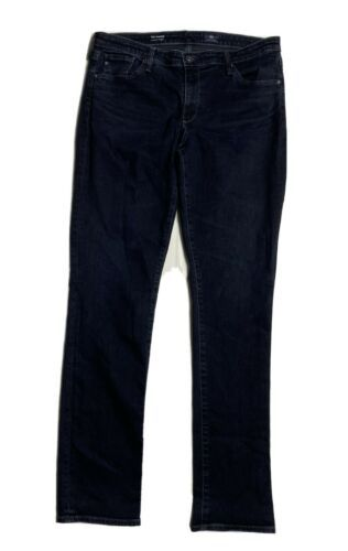Primary image for AG Adriano Goldschmied Harper Women Size 32r (35x34) Essential Straight Jeans