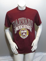 Harvard Crimson Shirt (VTG) - School Crest by Logo 7 - Men's Large (NWOT)  - $55.00